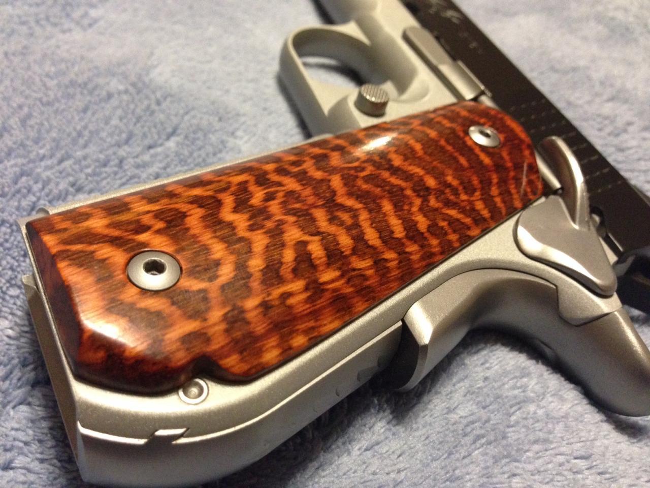 Snakewood gun